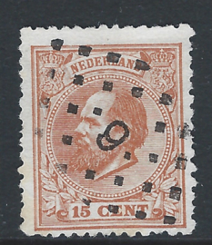 23D. 15 cent oranjebruin