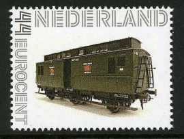 Philotrain NS P 4045 Postrijtuig 3-asser