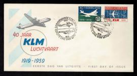 1959. E40 40 jaar KLM