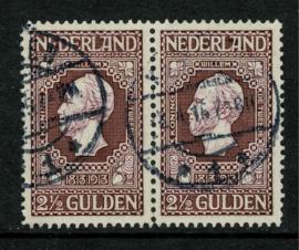 99A. 2 ½ Gulden ⦿ 9n luxe paar