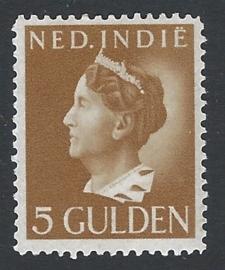 1941. 287, 5 Gld. Geelbruin *