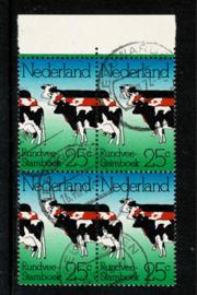 "1974. 1052 Rundvee ""dubbele koe"" in ⊞⦿"