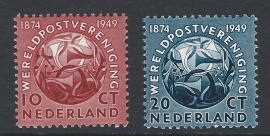 1949. 542/3 Werelpostvereniging **
