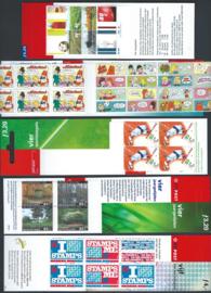 Mooie partij moderne Postzegelboekjes Nederland