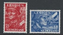 1942. 402/3 Legioenzegels **
