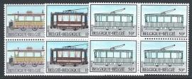 België 1983. 2079/81 Tram & Trolleybus in ⊞**