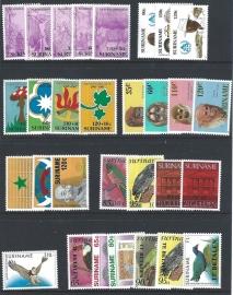 Suriname. Postfris
