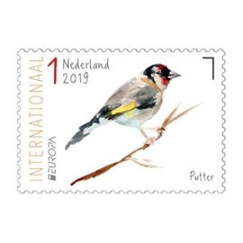 2019/ 3738/9 PostEuropa Vogels **