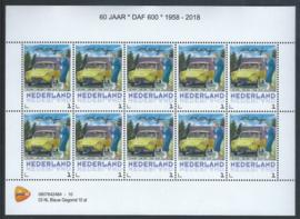 DAF 600 50 jaar 1958 - 2018 (gele uitvoering)