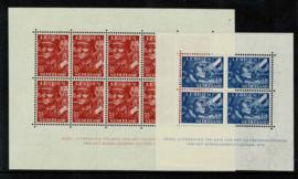 1942. 402/3B Complete set Legieonblokken **