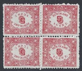 1909. 59a, 5 ct Hulpuitgifte in keerdruk ⊞**