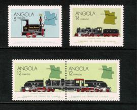 Angola 1990. Serie van 4 waarden **
