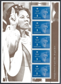 2013. V3054A  Koningin Beatrix vel-5 **