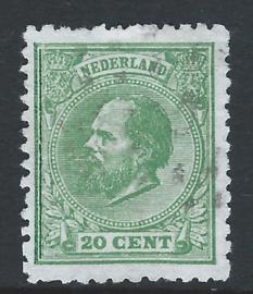 24E. 20 cent groen