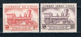 Chili 1954. 100 jaar Spoorwegen **