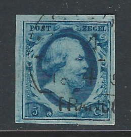 1i donkerblauw, plaat III-93