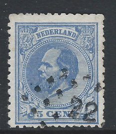19D. 5 cent blauw