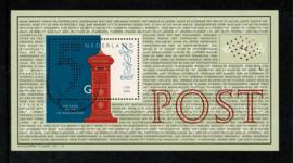 1999. 1841 200 jaar Postbedrijf blok ⦿