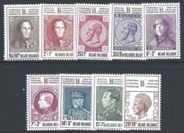 1972. 1627/35 Belgica 72**