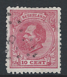 21D. 10 cent rood