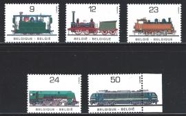 België 1985. 2170/74. 100 jaar Spoorwegen NMBS **
