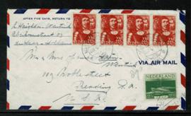 1946. eerste transatlantische vlucht Amsterdam - New York. ✈︎✉️