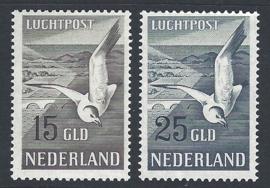 1951. LP 12/3 Meeuwen 12 & 15 Gld **