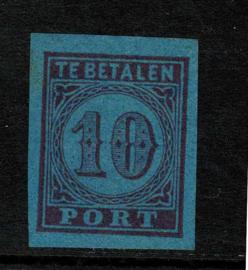 1870. Proef P.4b 10 ct. in de gekozen kleur