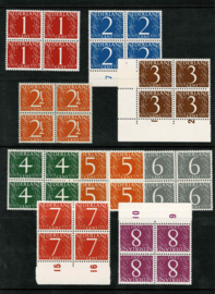 1946. 460/8 cijfer Van Krimpen ⊞ **
