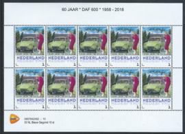 DAF 600 50 jaar 1958 - 2018 (groene uitvoering)