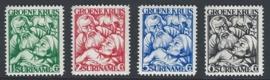 1929. 141/4 Groene Kruis **
