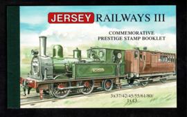 """Jersey 2009. Prestige boekje """"Railways III"""" **"""