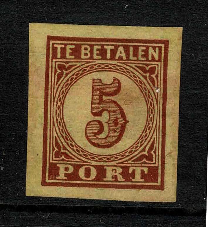 1870. Proef P.3l 5 ct. in de gekozen kleur