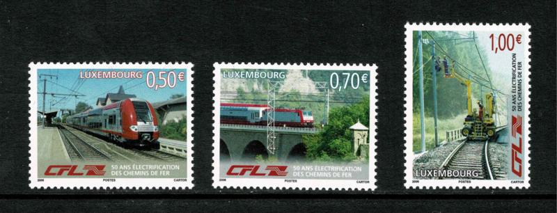 Luxemburg 2006. 50 jaar geëlektrificeerd spoortraject **