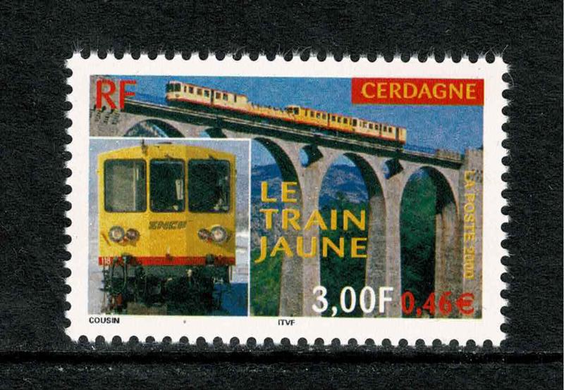"""Frankrijk 2000. """"Le train janus' uit deCerdagne **"""