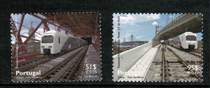 Portugal 1999. Treinen en Bruggen **