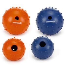 Beeztees rubberen bal met bel