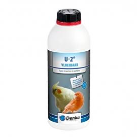 U-2 Vloeibaar (tegen insecten en mijten in volières) 1 liter
