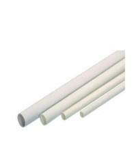 Kunststof zitstok geribbeld, 100 cm