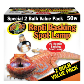 Zoomed Repti Basking Spot Lamp - 2 Bulb Value Pack