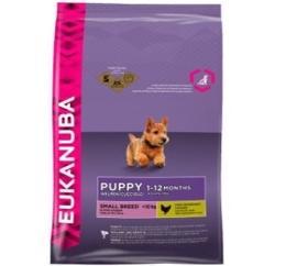 Eukanuba Puppy Small, 3 kg