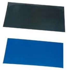 Achtergrondposter 60x30cm blauw/zwart
