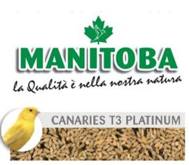 Manitoba T3 Platino - kanariezaad met witte perilla 20 kg