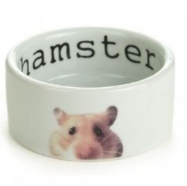 Beeztees keramieken eetbak 'Snapshot' hamster