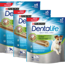 Dentalsticks en Zetmeelsnacks