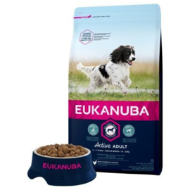 Eukanuba Active Adult Medium, 12 kg