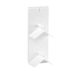 Dubbel zitschapje uitbreidbaar (wit)