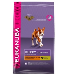 Eukanuba Puppy Medium, 3 kg