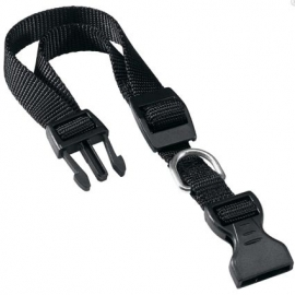 Ferplast nylon halsband Club C zwart