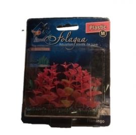 Folagua kunstplant kunststof M - rood